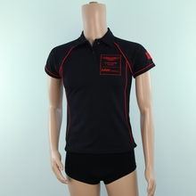 Load image into Gallery viewer, Used Aston Martin Racing MP Motorsport Team Woman's Polo Shirt Black 2014 - Pit-Lane Motorsport