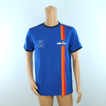 Load image into Gallery viewer, Used Beechdean Motorsport Aston Martin Racing Ellesse T-shirt Blue - Pit-Lane Motorsport
