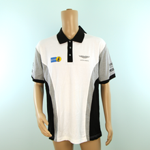 Load image into Gallery viewer, Used Aston Martin 100 Years Celebration Hackett Polo Shirt Grey - 2013 - Pit-Lane Motorsport