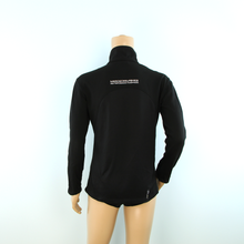 Load image into Gallery viewer, Used Mercedes-AMG F1 Team Travel 1/2 Zip Sweatshirt Black - Pit-Lane Motorsport