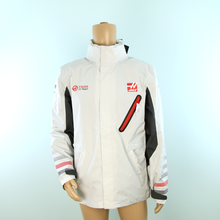 Load image into Gallery viewer, Haas F1 Official Team Rain Jacket Grey - Pit-Lane Motorsport