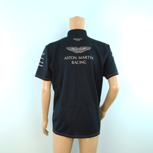Load image into Gallery viewer, Used Aston Martin Racing Hackett Team Polo Dark Blue - 2014 - Pit-Lane Motorsport