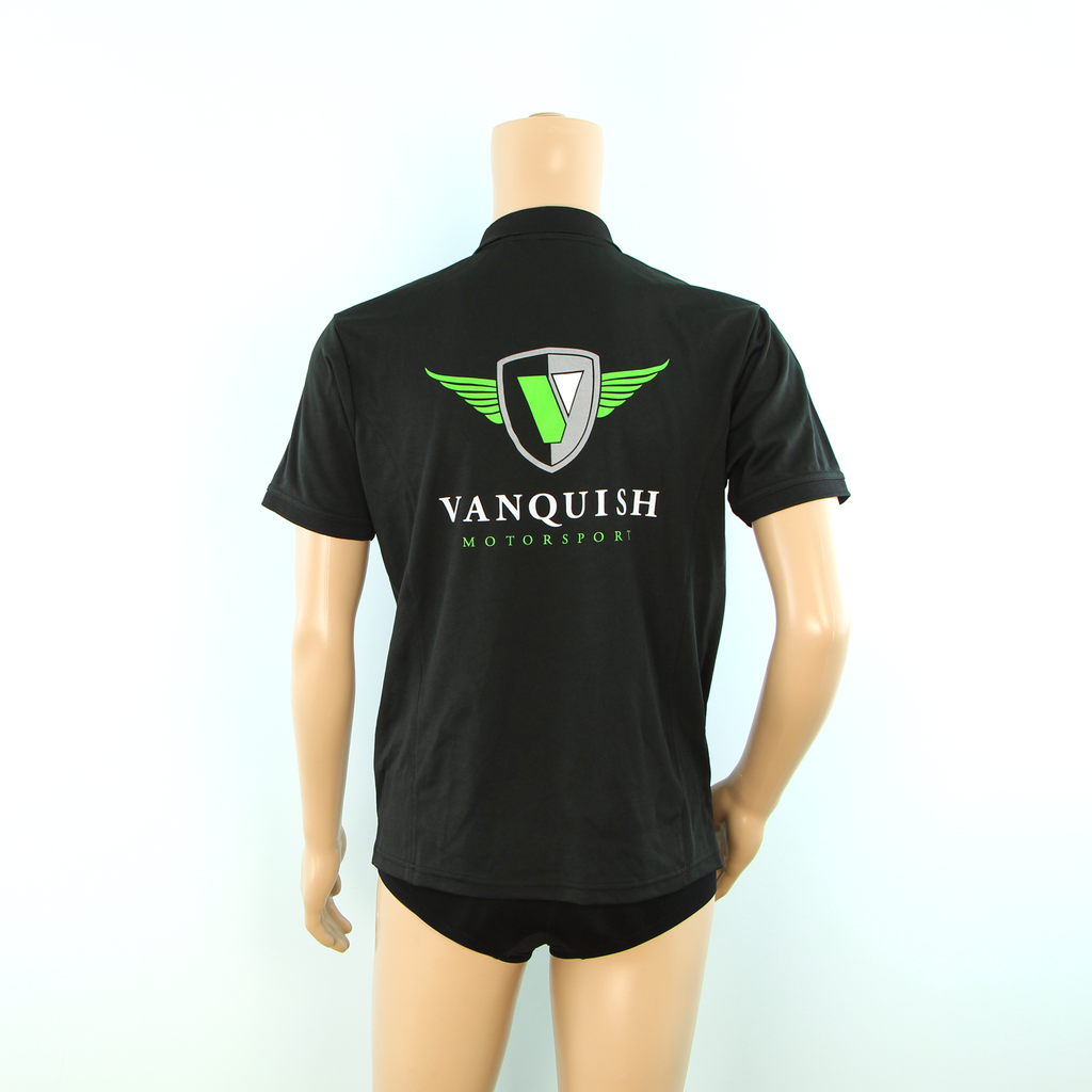 Used Vanquish Motorsport Team Support Polo Shirt Black - Pit-Lane Motorsport