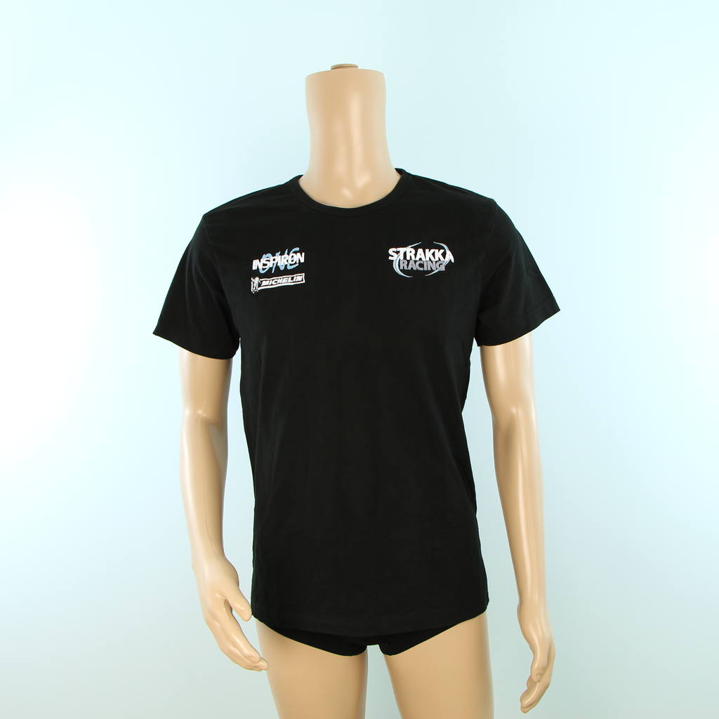 Used Strakka Racing Endurance GT Racing Team T-shirt Black - Pit-Lane Motorsport