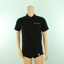 Load image into Gallery viewer, Race Mechanics Caterham F1 Team travel Polo Shirt Black - Pit-Lane Motorsport