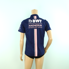 Load image into Gallery viewer, Used Racing Point F1 Force India Polo Shirt Dark Blue - 2018 - Pit-Lane Motorsport