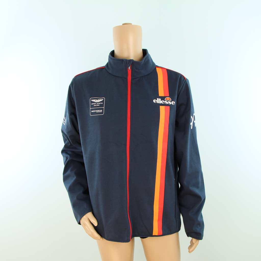 Used Beechdean Motorsport Aston Martin Racing Softshell Jacket Dark Blue - Pit-Lane Motorsport