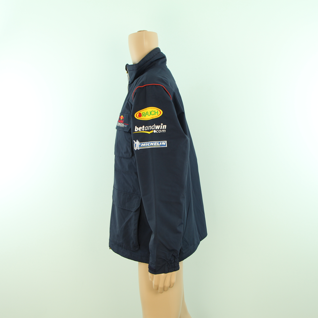 Used Red Bull Racing F1 Official Team Rain Jacket Blue - Pit-Lane Motorsport