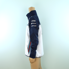 Load image into Gallery viewer, Used Williams Martini Racing F1 Team Rain Coat White - Pit-Lane Motorsport