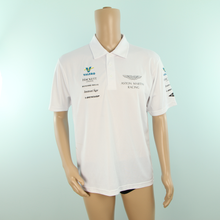 Load image into Gallery viewer, Used Aston Martin Racing Valero Vantage GTE Team Polo Shirt White 2016 - Pit-Lane Motorsport