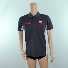Load image into Gallery viewer, Race Mechanic Used - Haas F1 Team Grey Polo Shirt - Pit-Lane Motorsport