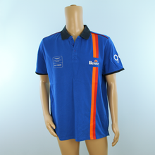 Load image into Gallery viewer, *Used Aston Martin Racing Beechdean Ellesse Polo Shirt Blue - Pit-Lane Motorsport
