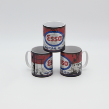 Load image into Gallery viewer, Esso Oil inspired Retro/ Vintage Distressed Look Oil Can Mug - 10z - Pit-Lane Motorsport