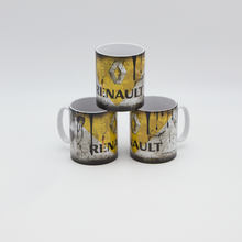 Load image into Gallery viewer, Renault inspired Retro/ Vintage Distressed Look Oil Can Mug - 10oz - Pit-Lane Motorsport