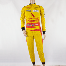 Load image into Gallery viewer, Used - Aston Martin Racing Sparco Race Suit Yellow (Ex Richie Stanaway) - size 50 - Pit-Lane Motorsport