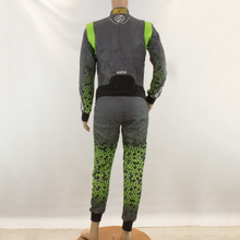 Load image into Gallery viewer, Used - Sparco Infinity Green Grey Race Suit - 2016 - Pit-Lane Motorsport