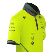 Load image into Gallery viewer, AMR Team Polo Shirt Lime Green - Pit-Lane Motorsport