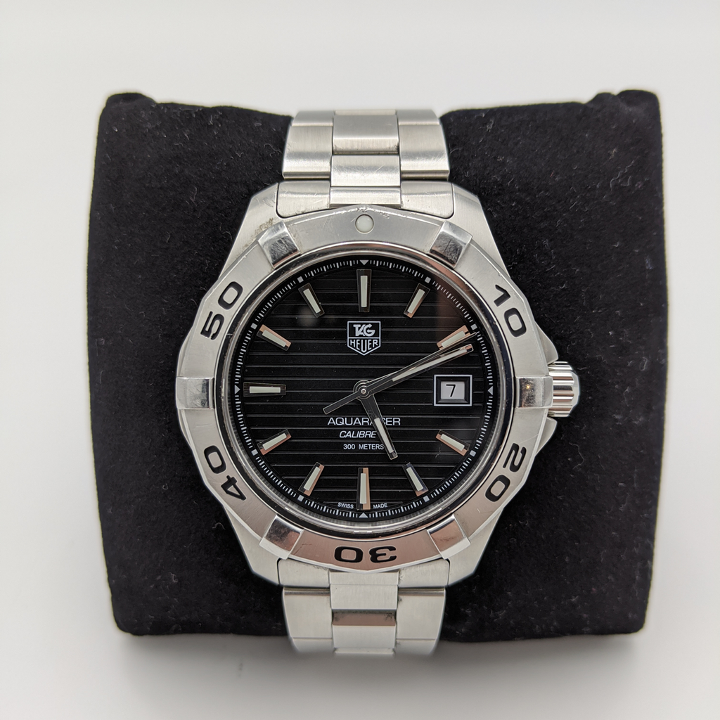 TAG Heuer Aquaracer Calibre 5 Automatic watch - Pre-owned - Pit-Lane Motorsport