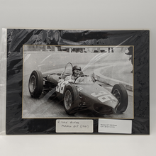 Load image into Gallery viewer, Monaco Grand Prix 1961 Ferrari 156 Richie Ginther - Photo Black and white - Pit-Lane Motorsport