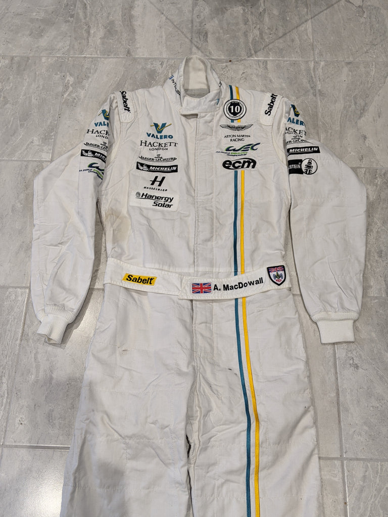 Used - Sabelt Light Weight Drivers Suit - Aston Martin Racing 10th Anniversary - Valero