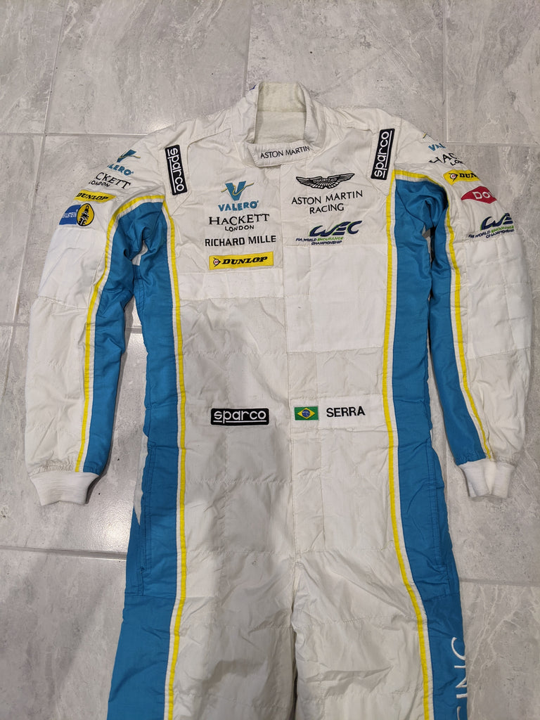 Used - Aston Martin Racing Valero Sabelt  Light Weight Drivers Race Suit - 2016