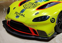Load image into Gallery viewer, Aston Martin Racing 2018 New Vantage carbon fibre front splitter - Pit-Lane Motorsport