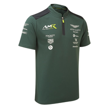 Load image into Gallery viewer, Aston Martin Racing AMR Dark Green Team Polo in an official gift box. - Pit-Lane Motorsport