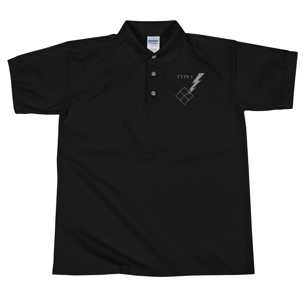 Type 5 Embroidered Polo