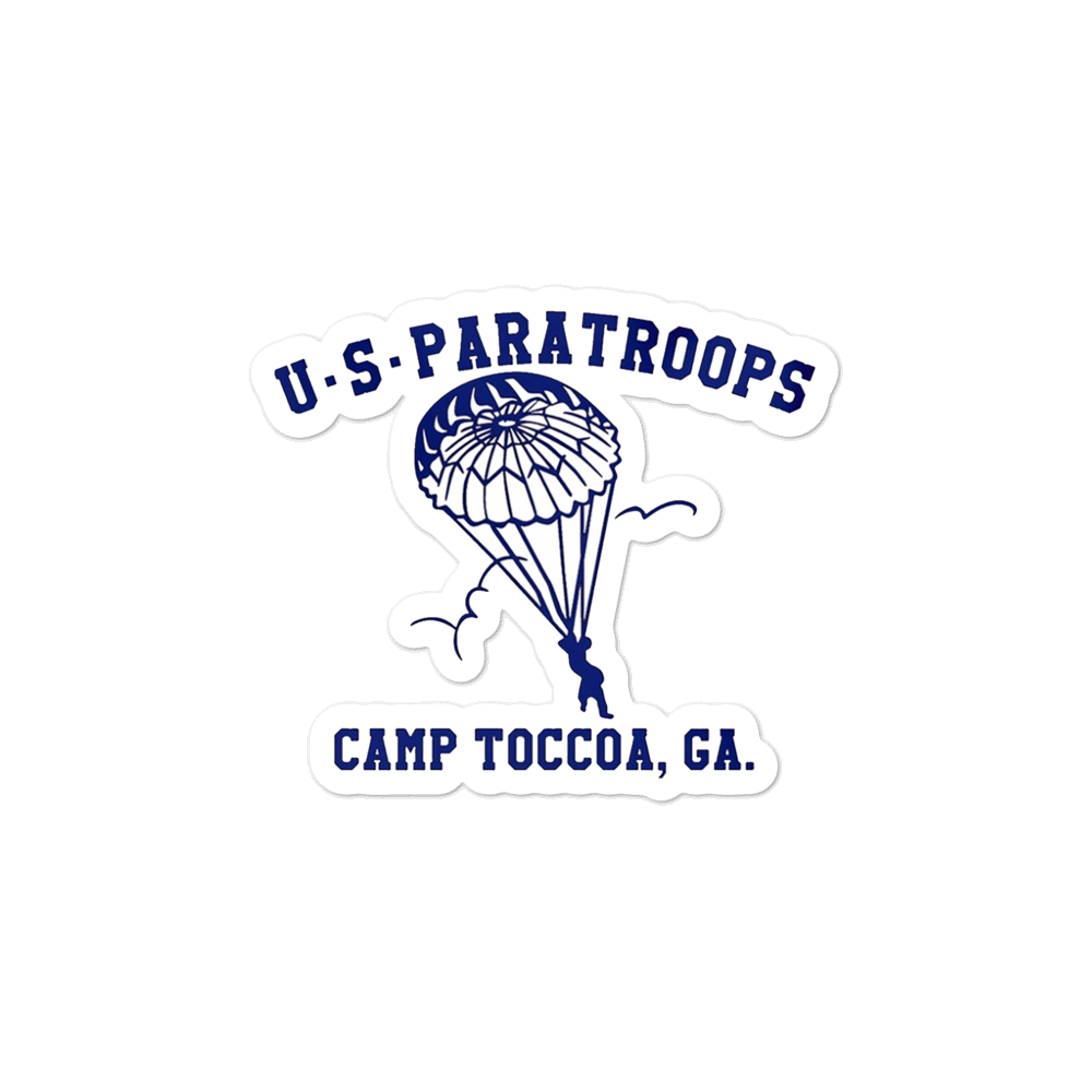 US Paratroops Sticker