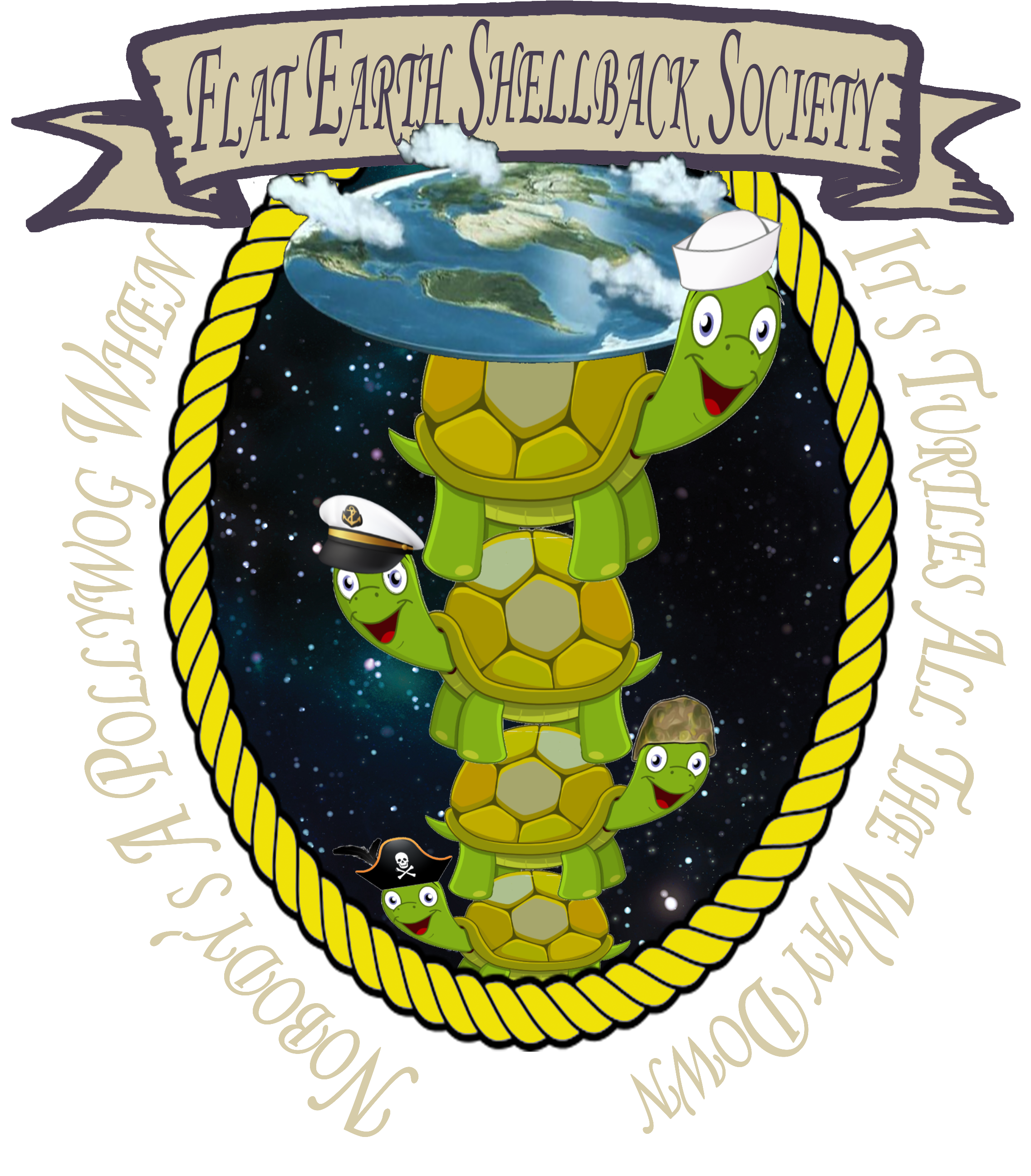 Flat Earth Shellback Society