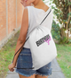 Birthday Girl White Drawstring Bag