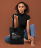Kinky Definition Black Tote bag