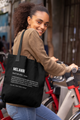Melanin Definition Black Tote bag