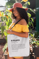 Black Queen Definition Tote bag