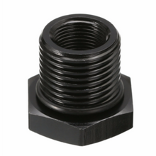 Load image into Gallery viewer, OIl Filter Threaded Adapter - Anodized Black