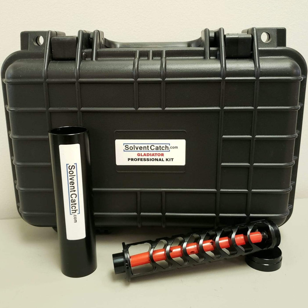 Gladiator Professional Solvent Trap Kit - Pattern 1 - Black