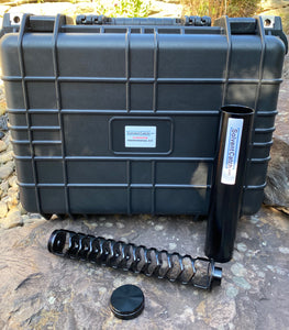 "Gladiator 10"" Professional Solvent Trap Kit  - Anodized Black"