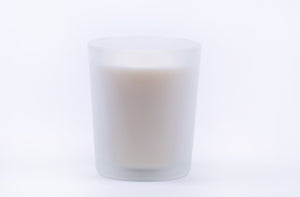 Custom Scented Candle in 14 oz Frosted Glass