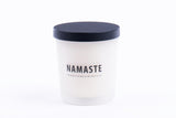Namaste 7 oz Frosted Jar Candle