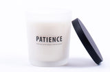 Patience 7 oz Frosted Jar Candle