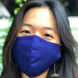 MyanMask Face Mask - NAVY BLUE (Available in Australia Only)