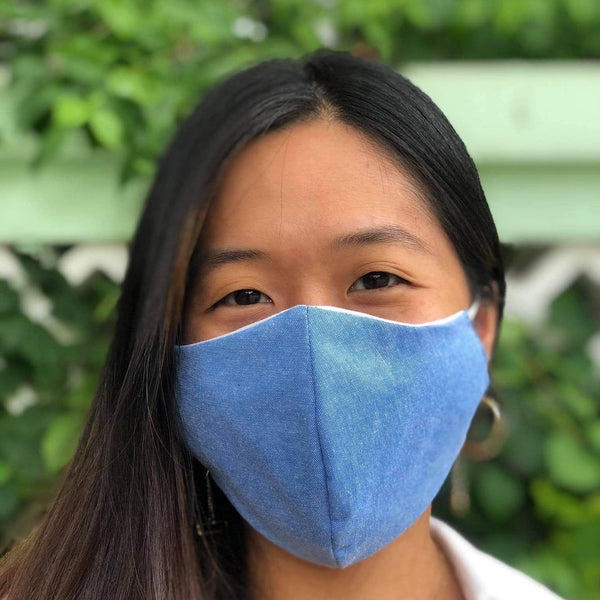 MyanMask Face Mask - DENIM BLUE (Available in Australia Only)