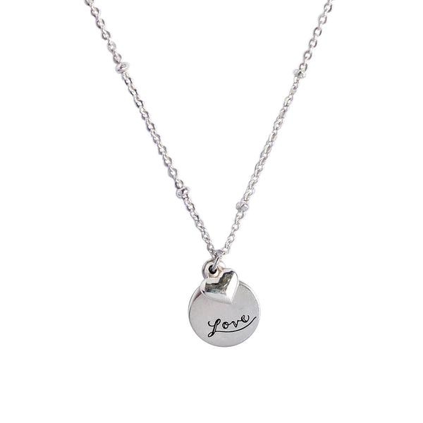 Courageous Heart Necklace