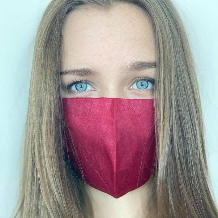 MyanMask Face Mask - MAROON (Available in UK Only)
