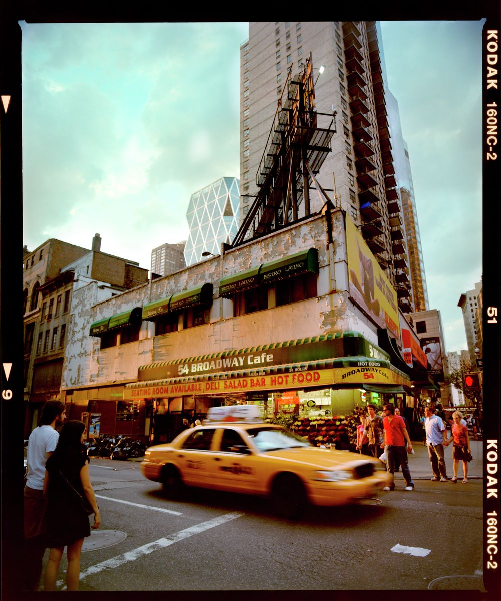 Sunset on 54th & Broadway, New York 2008
