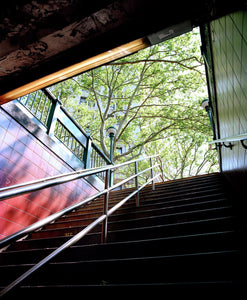 Subway_Stairs, New York 2008