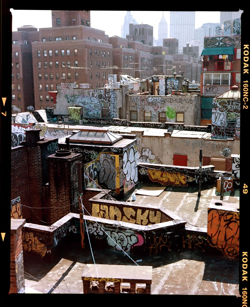 NYC Rooftops, New York 2008
