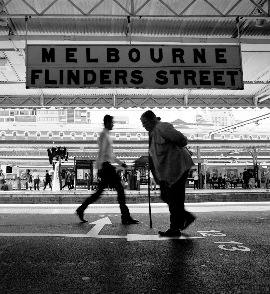 Flinders St Station_2, Melbourne 2018