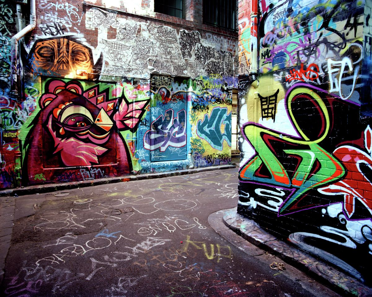 Graffiti Alleys, Melbourne 2010