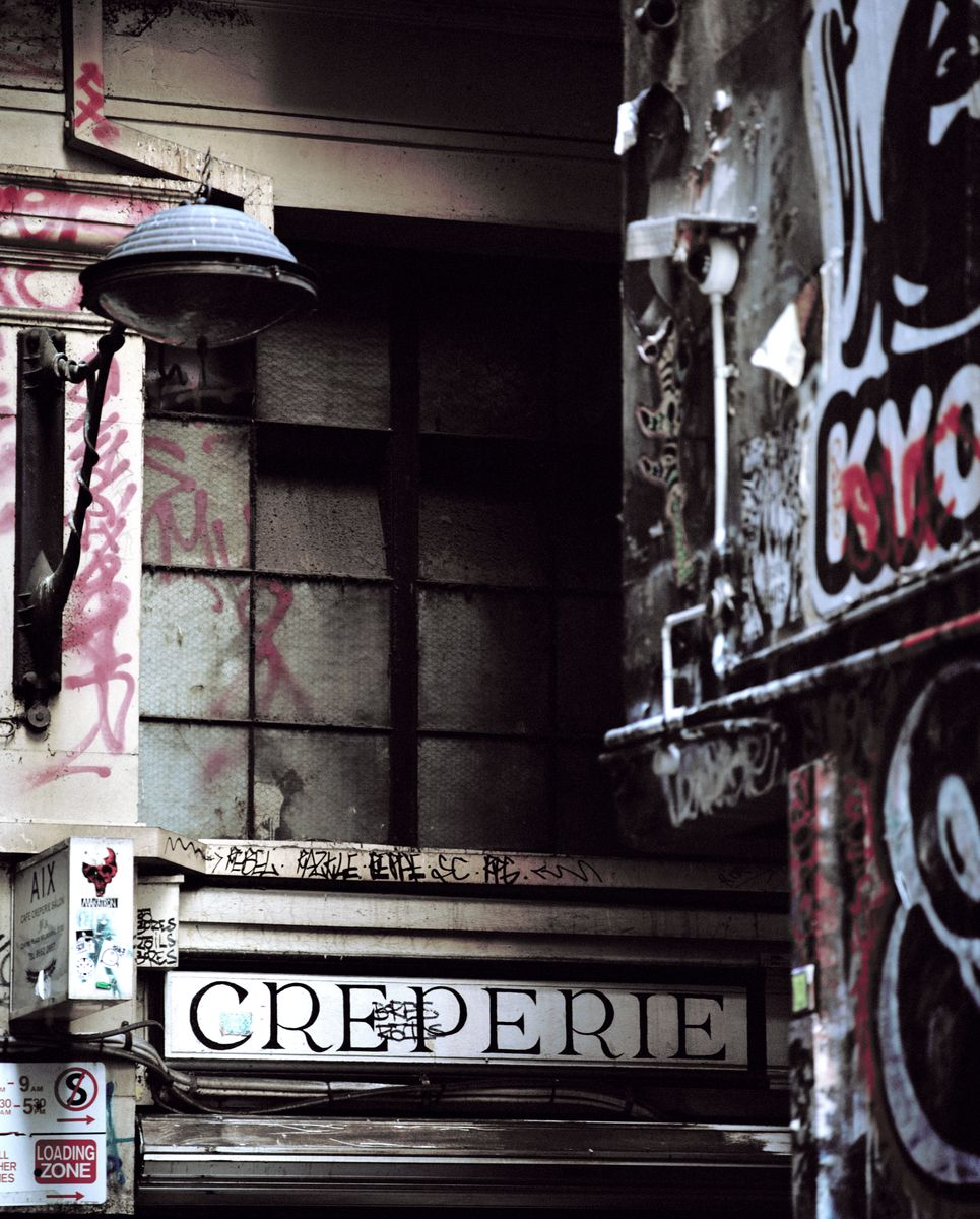 Creperie, Melbourne 2018